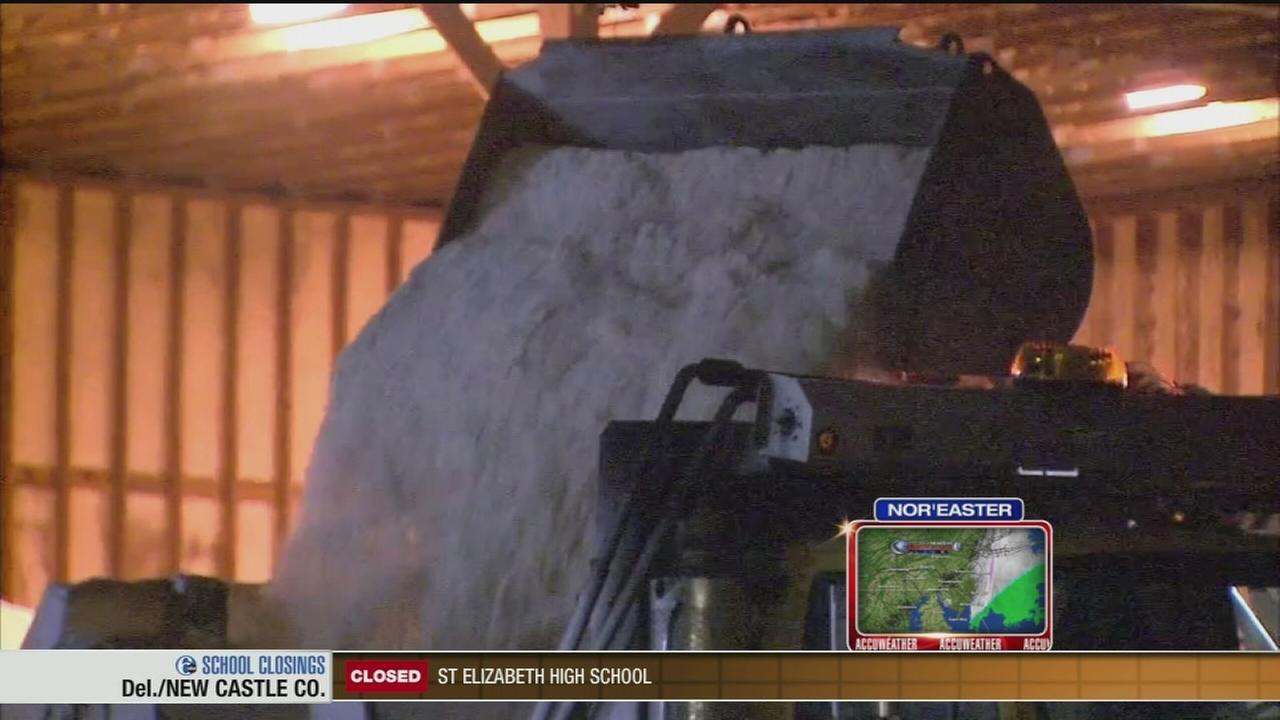 VIDEO: PennDot preps for storm