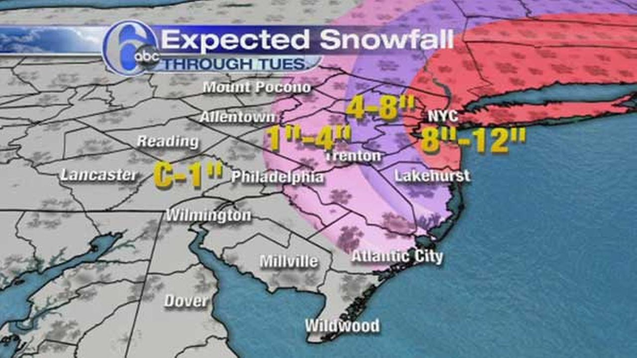 AccuWeather is tracking snow for Monday night into Tuesday.