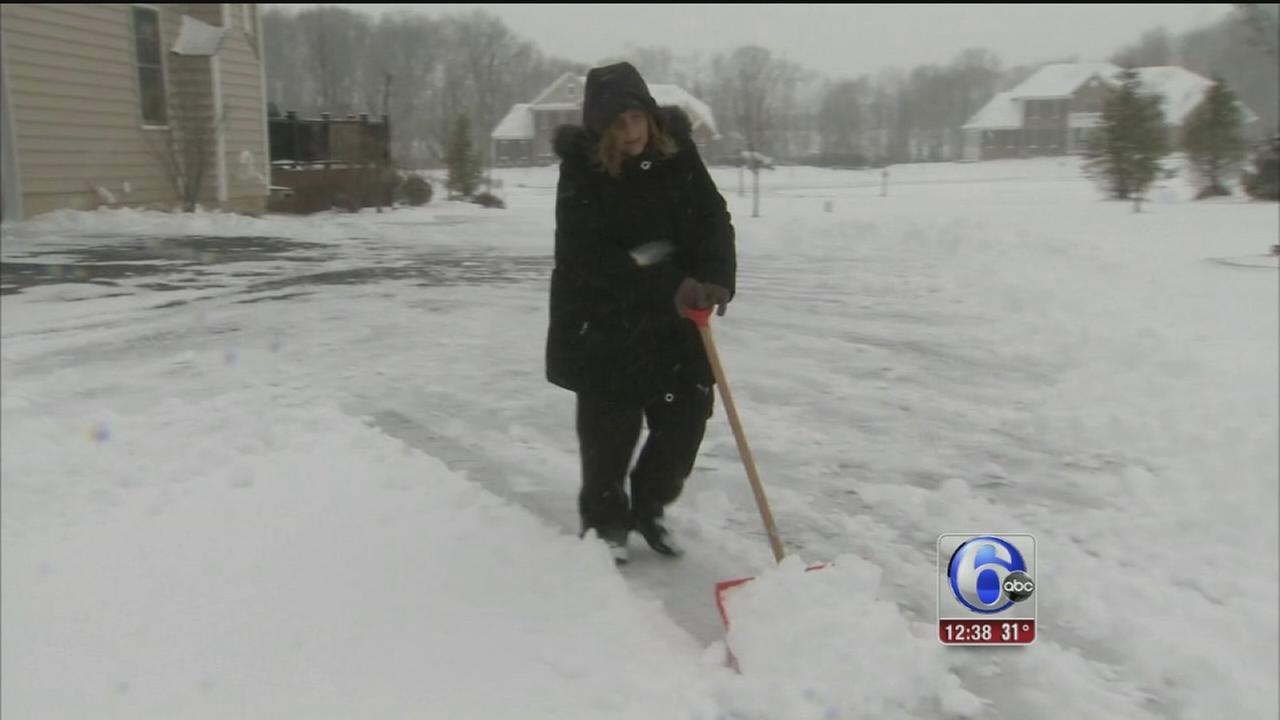 VIDEO: Getting back to normal after the storm in Ocean Co.