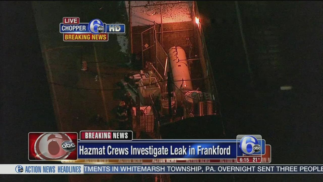 VIDEO: Ammonia leak in Frankford