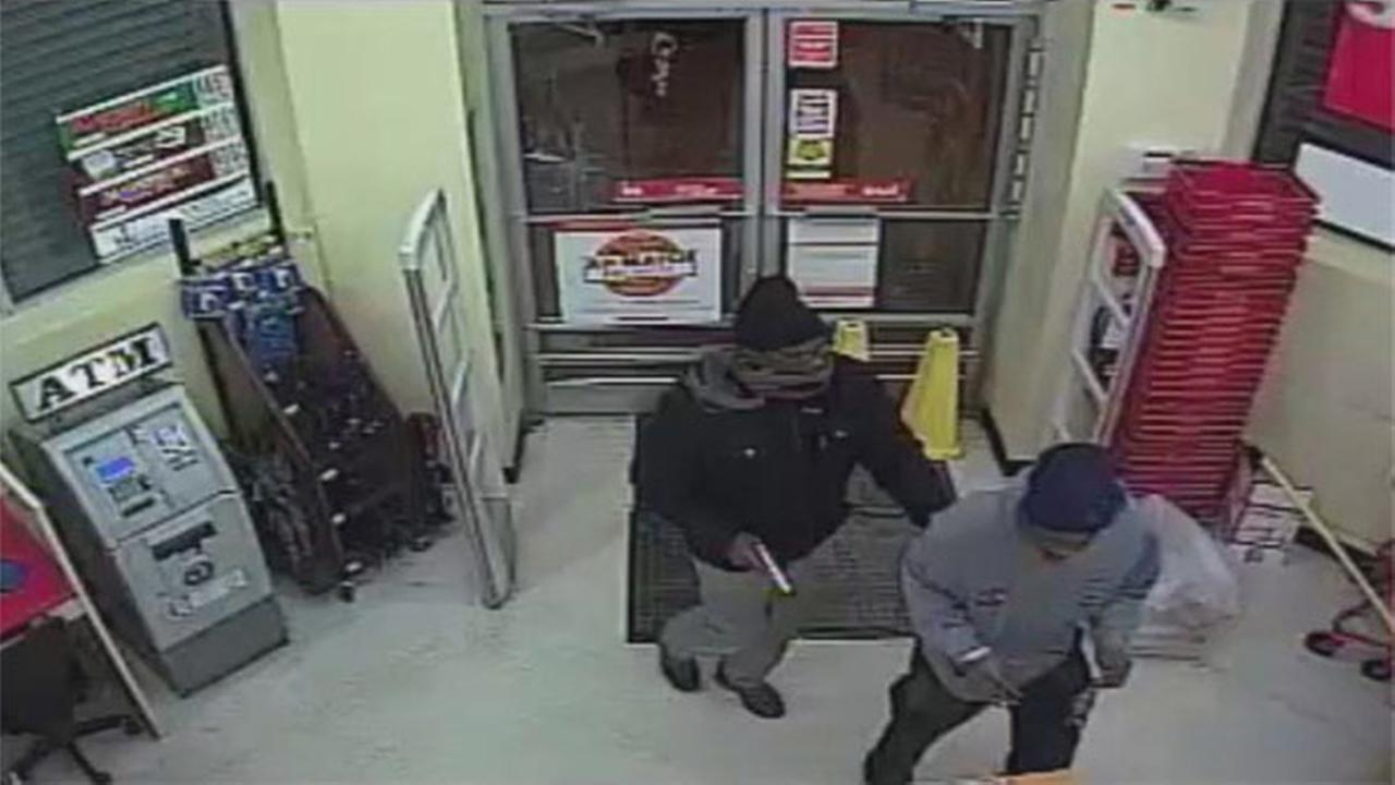 Surveillance Video of North Philadelphia Dollar Store Robbery