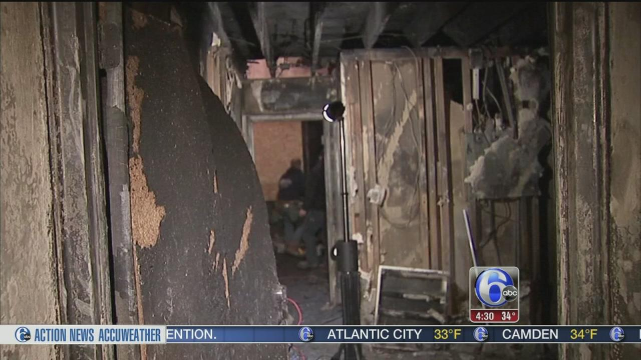 VIDEO: Dozens displaced after apartment blaze in Whitemarsh Twp.