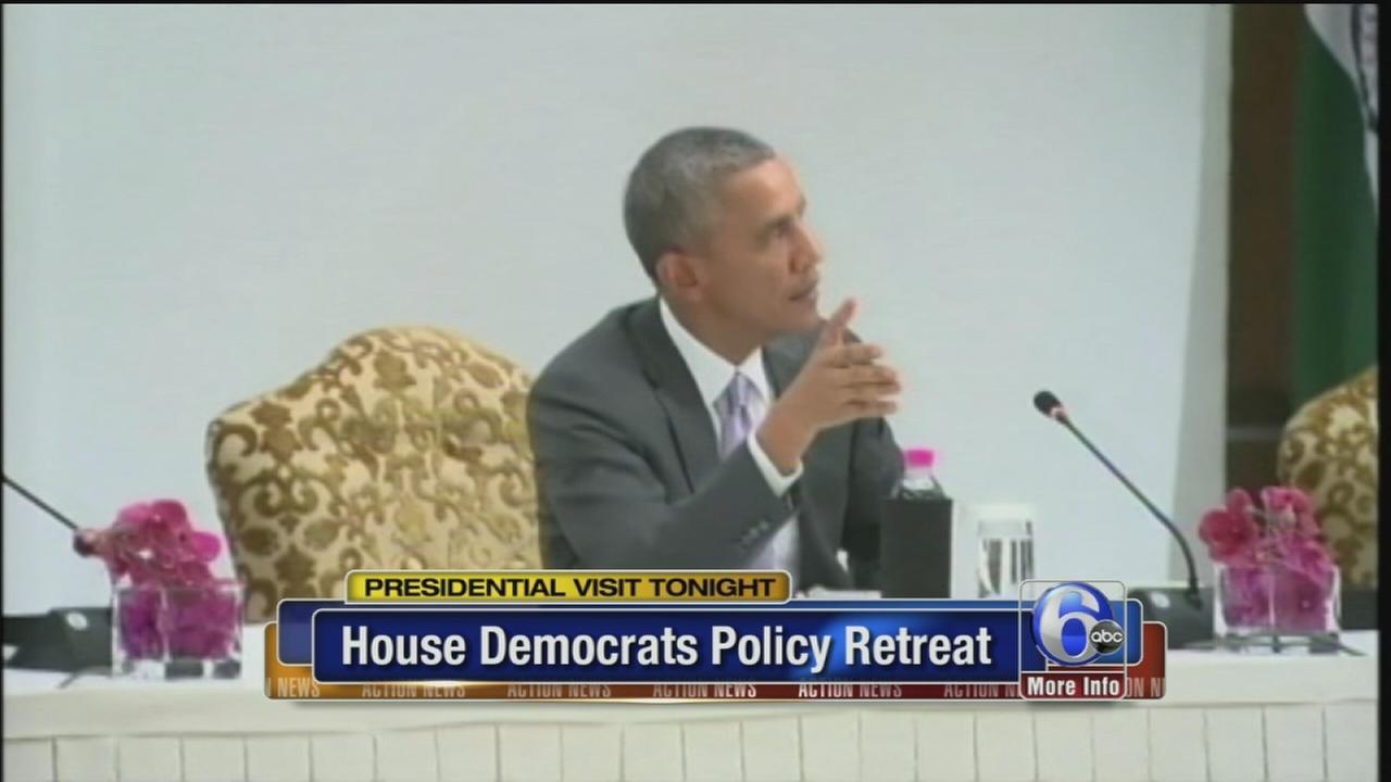 VIDEO: Obama visits Philadelphia tonight