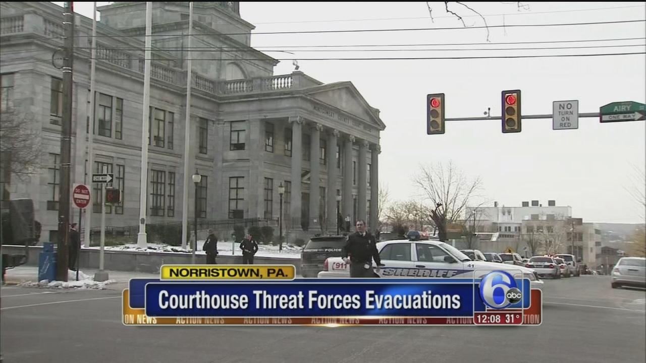 VIDEO: Courthouse threat forces evacuations