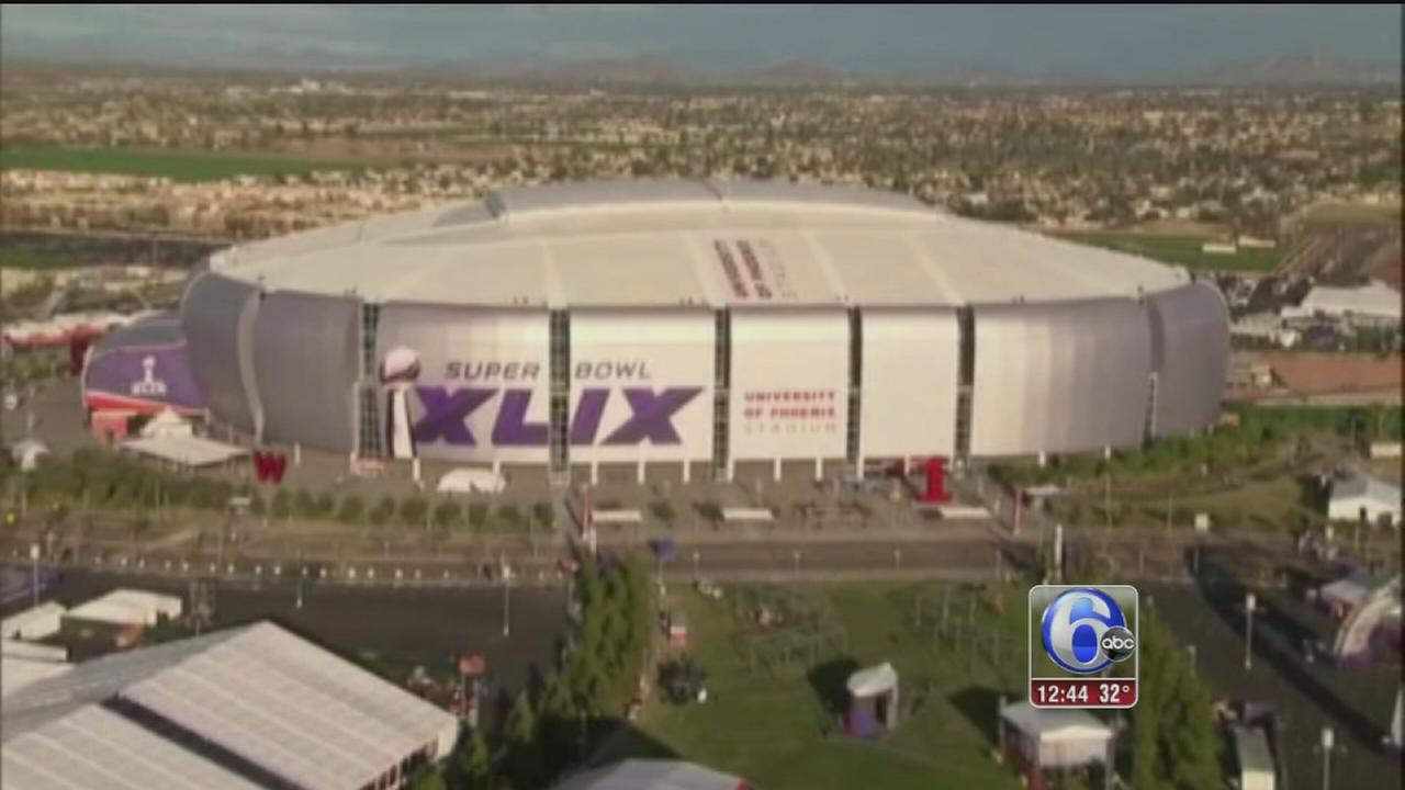 VIDEO: Super Bowl security