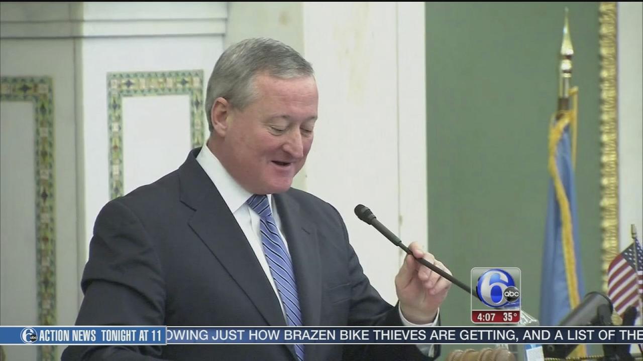 VIDEO: Jim Kenney resigns