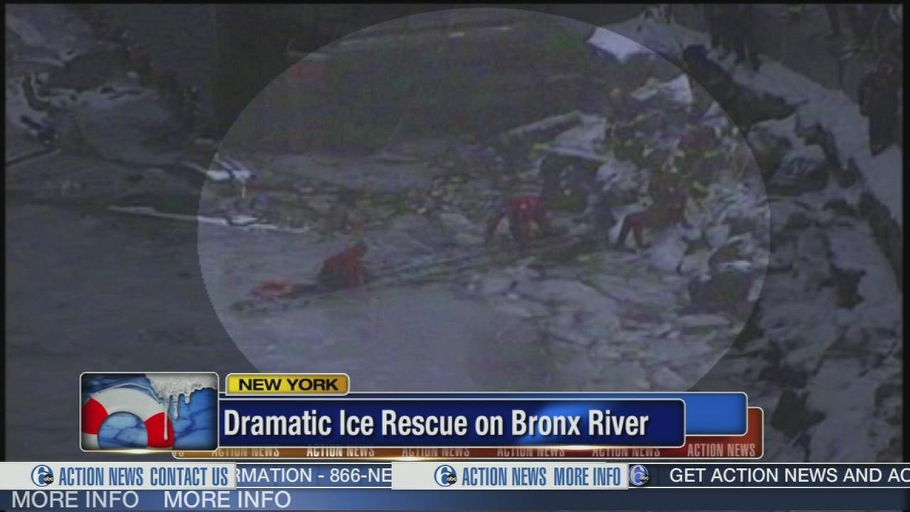 VIDEO: Boy rescued from icy Bronx river