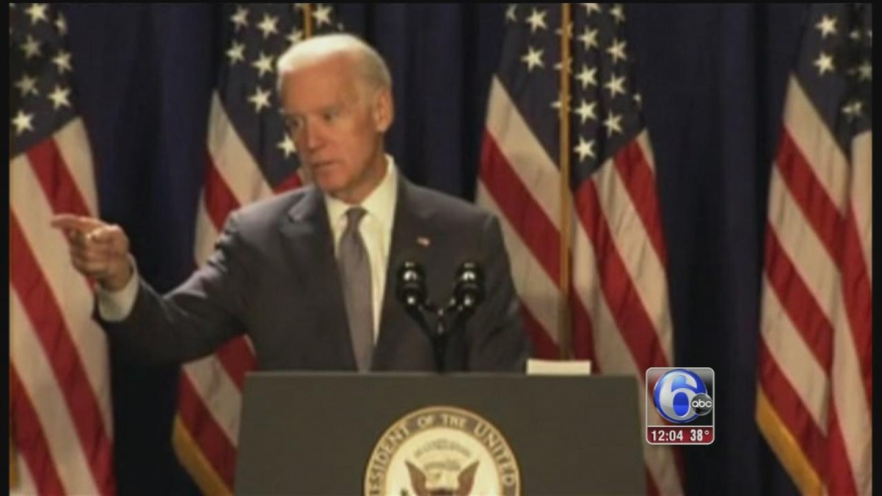 VIDEO: VP Biden addresses Democrats in Phila.