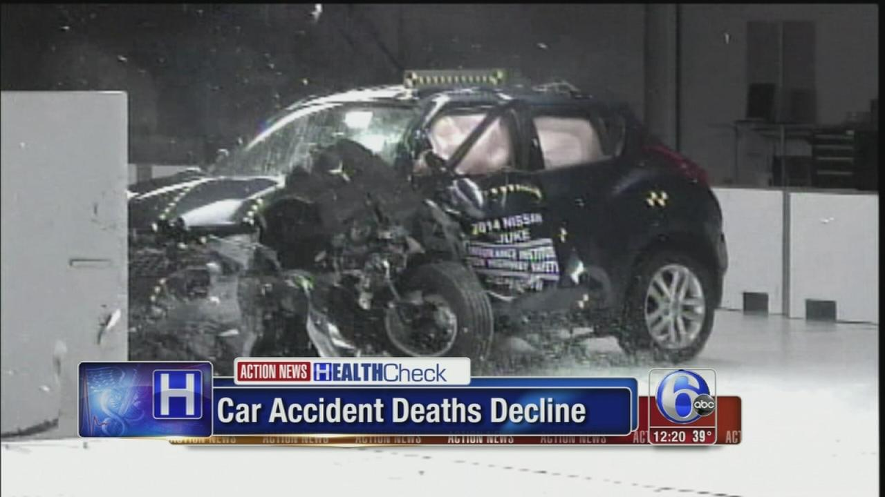VIDEO: Car accident deaths decline