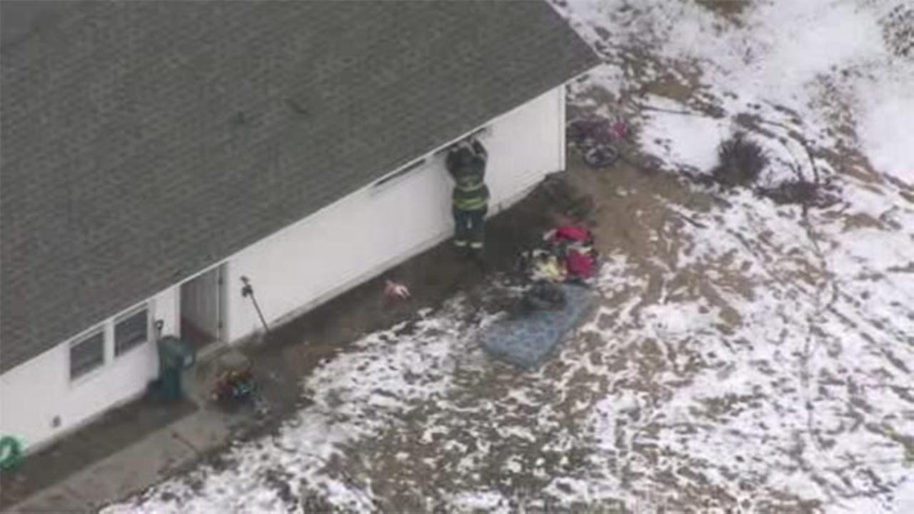 1 hospitalized following Levittown fire