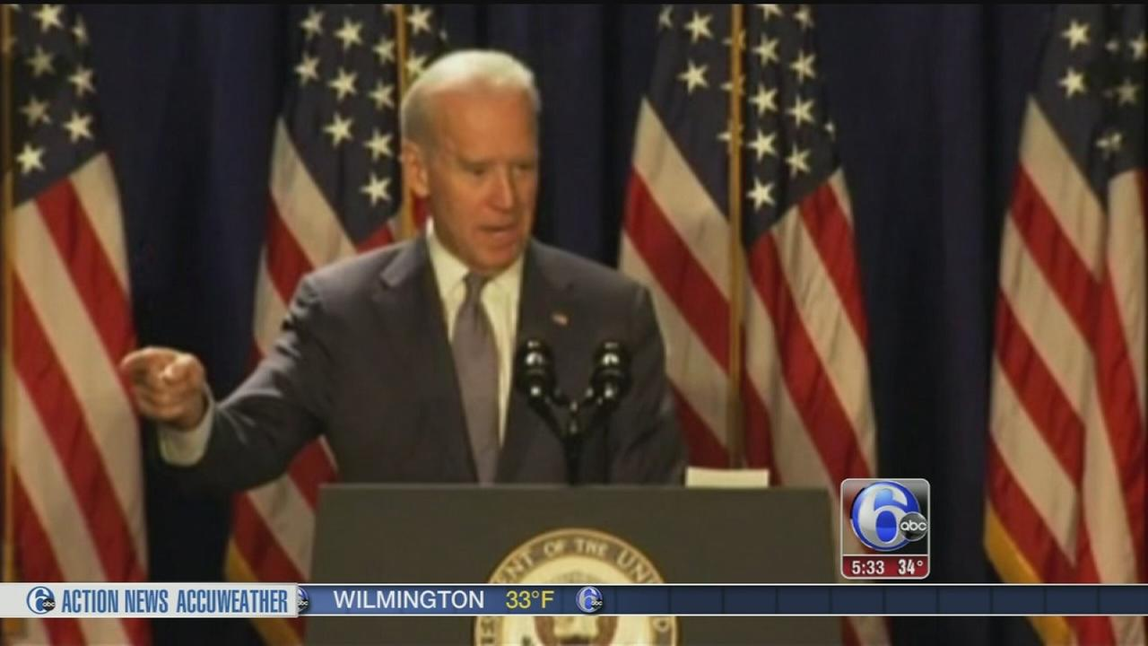 VIDEO: Biden rallies Democrats in Philly as DNC decision looms