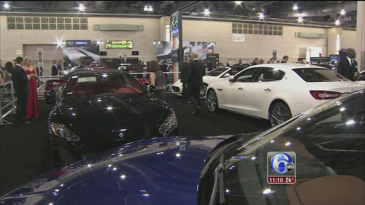 VIDEO: Phila. Auto Show gets in gear with Black Tie Tailgate