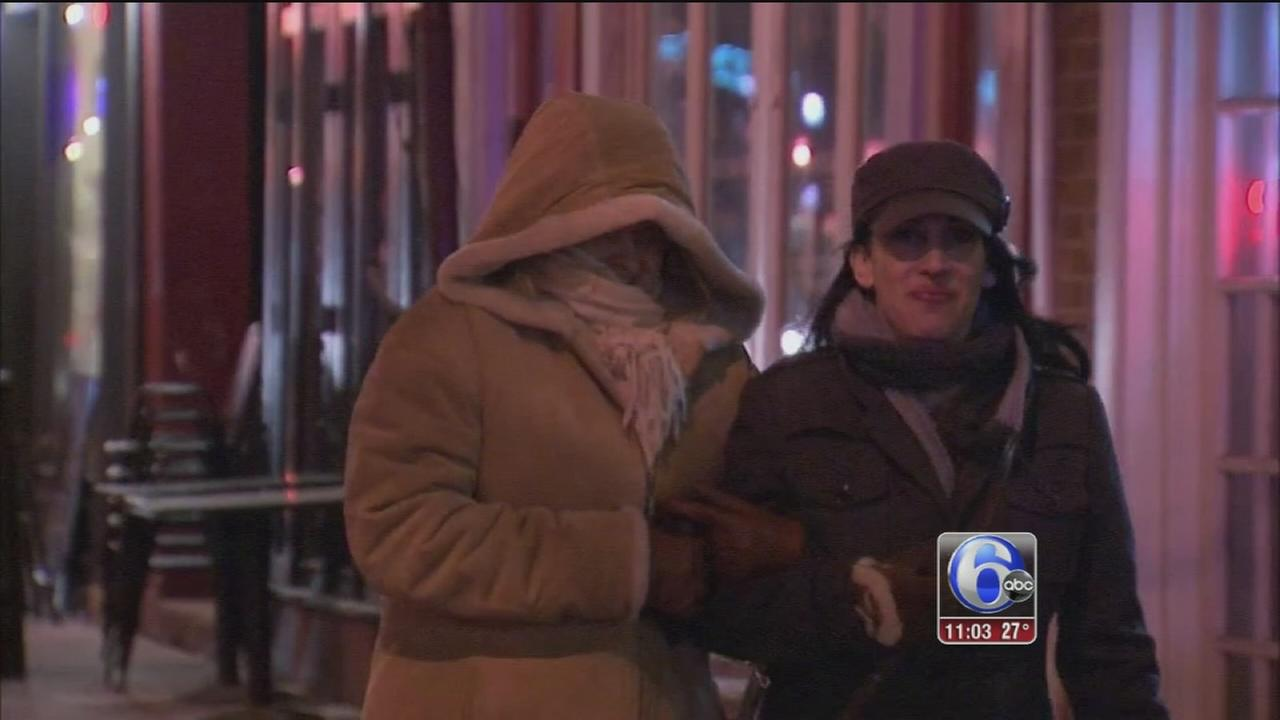 VIDEO: Coping with the cold, bracing for snow
