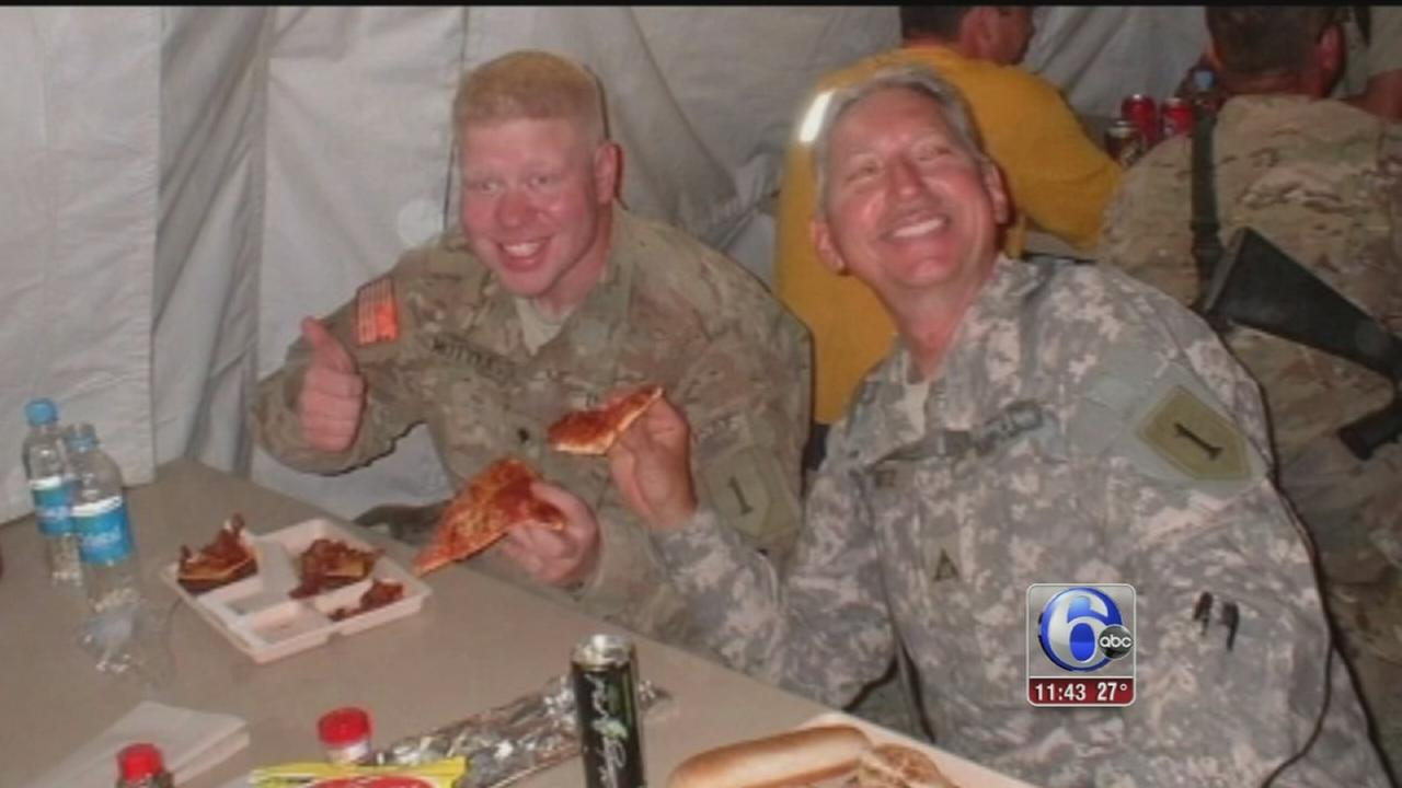 VIDEO: Troops overseas get special Super Bowl delivery