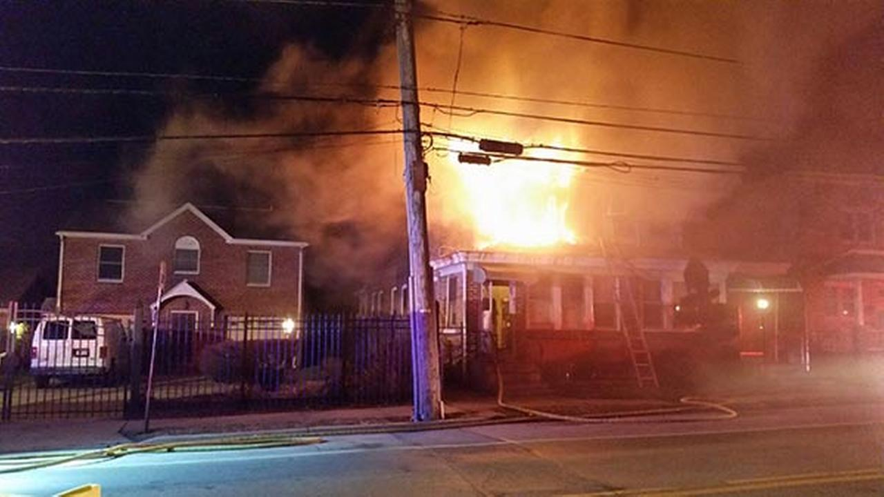 Flames force family from Chester Twp. home