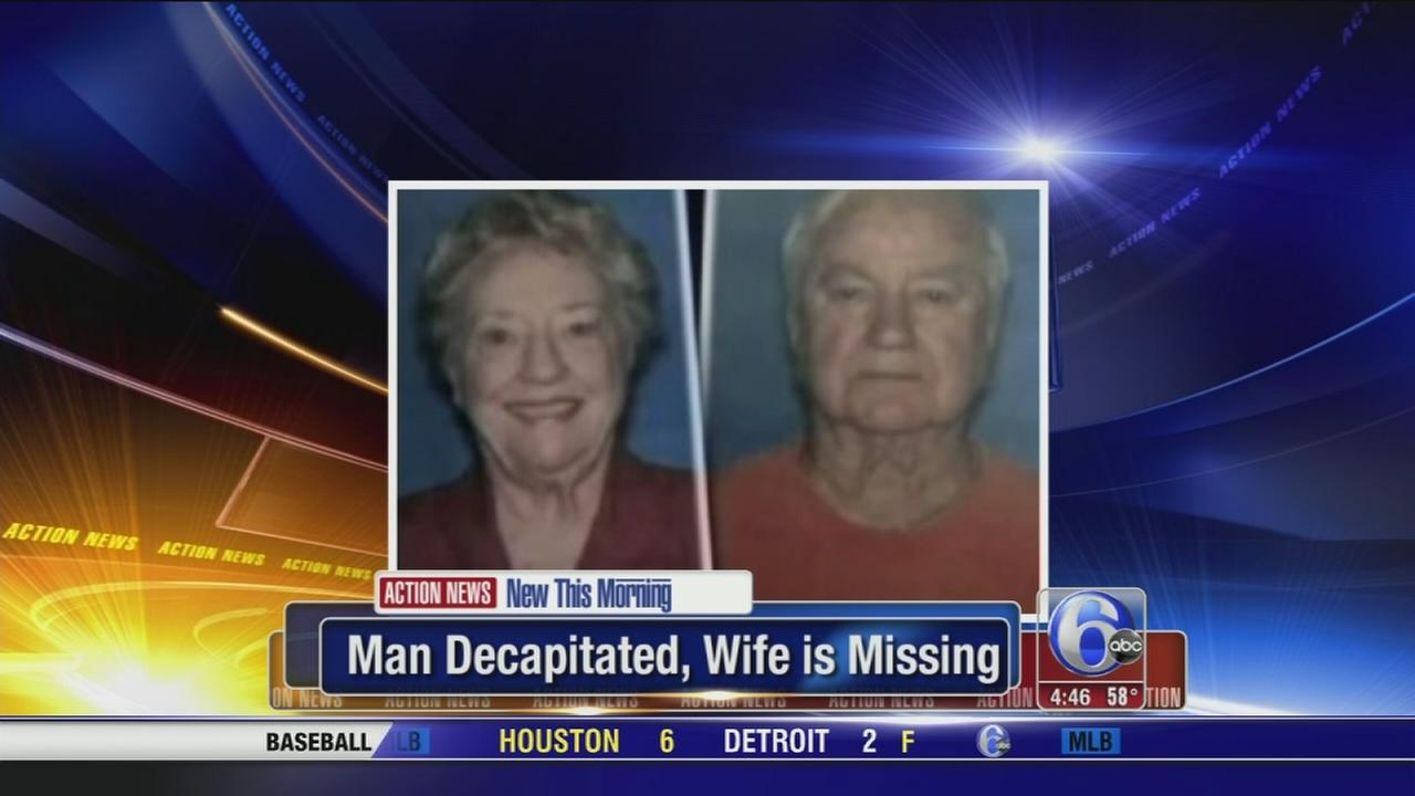 Man decapitated and wife missing in Georgia