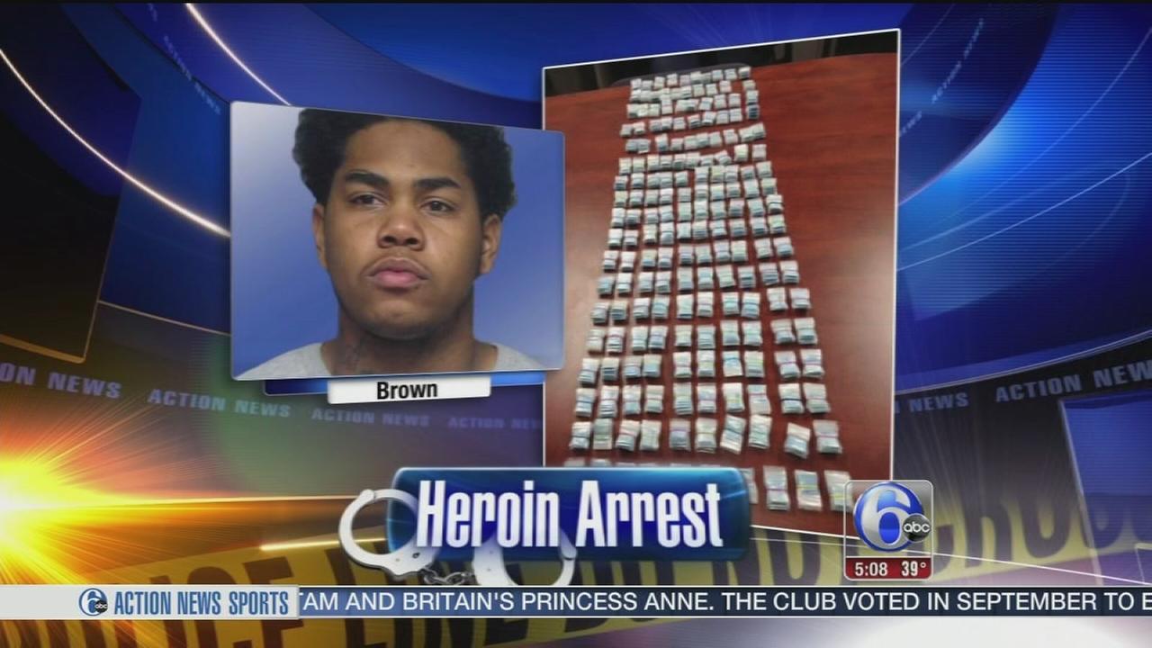 VIDEO: Delaware heroin bust