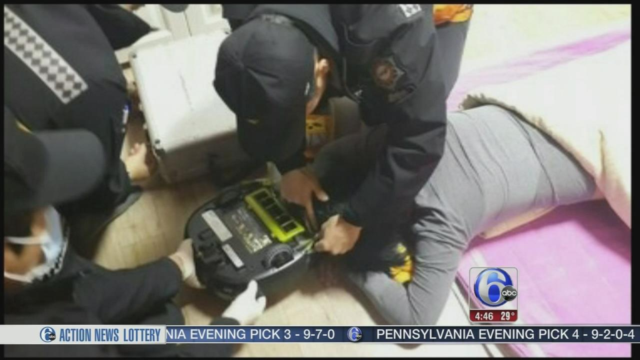 VIDEO: Woman attacked by household appliance