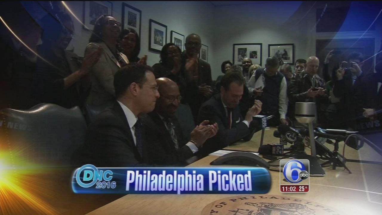 VIDEO: Phila. to host 2016 Democratic National Convention
