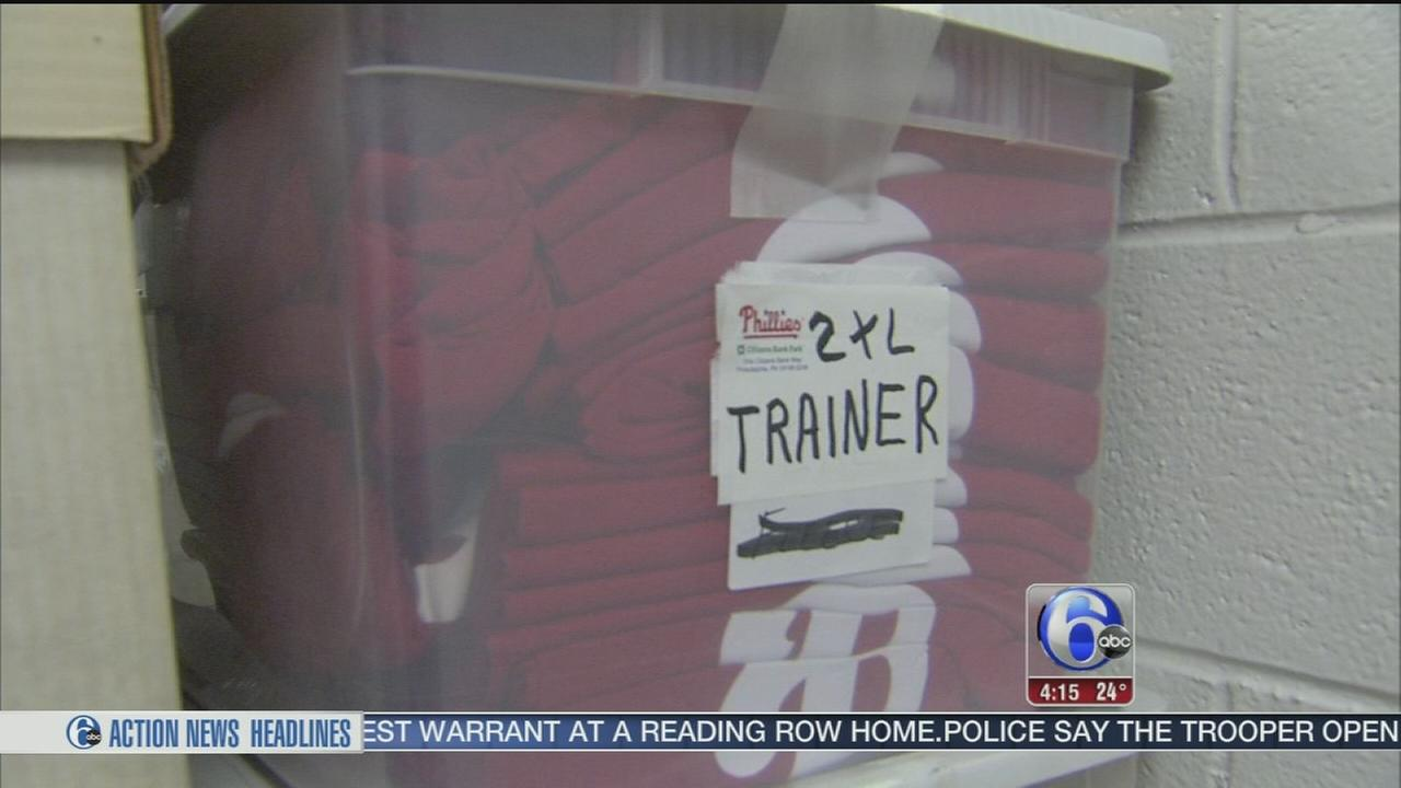 VIDEO: Phillies gear ships out for Spring Training