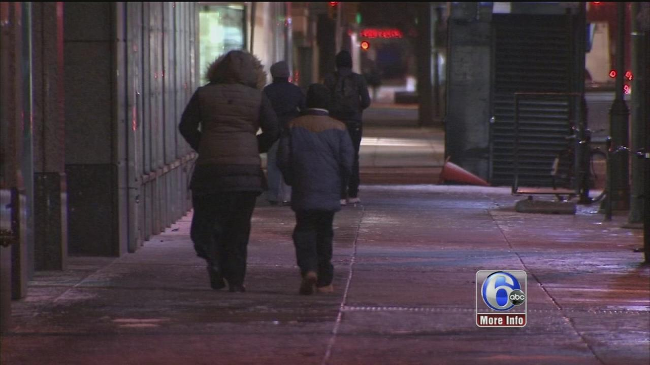 VIDEO: Frigid temps, whipping winds hit the region