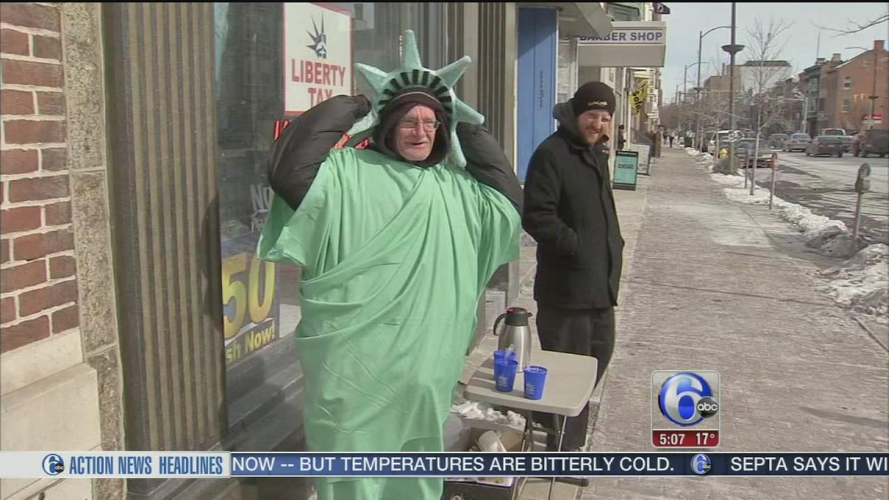 VIDEO: For some, brutal cold makes for tough workday
