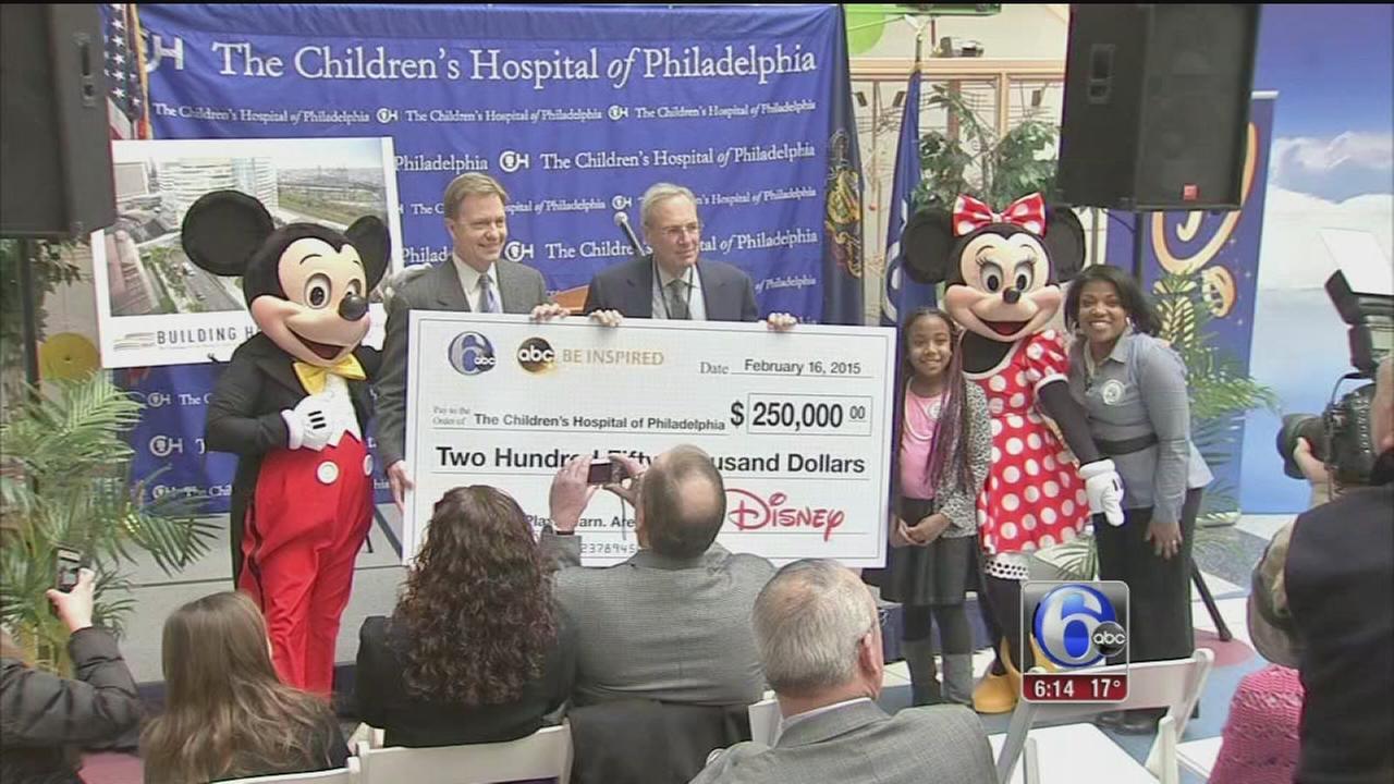 VIDEO: CHOP receives big gift from Walt Disney Company
