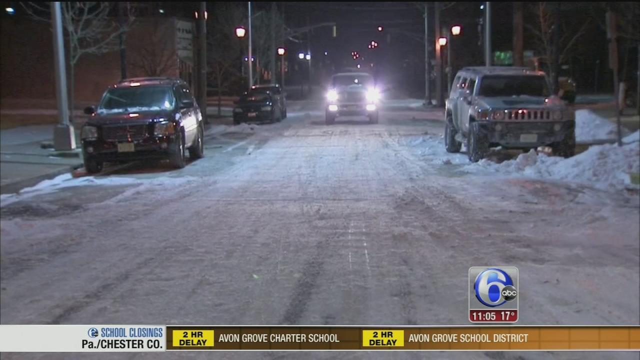 VIDEO: Snow in the area
