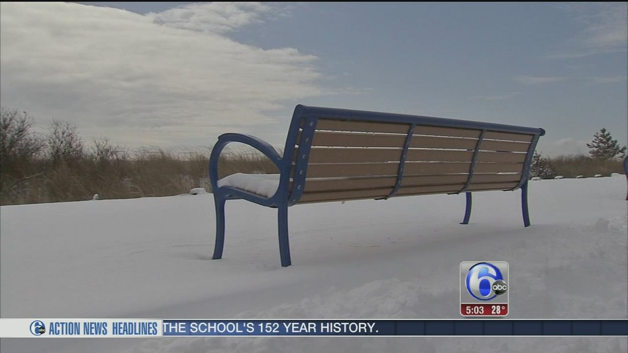 VIDEO: Big snow piles, clear roads in Cape May Court House