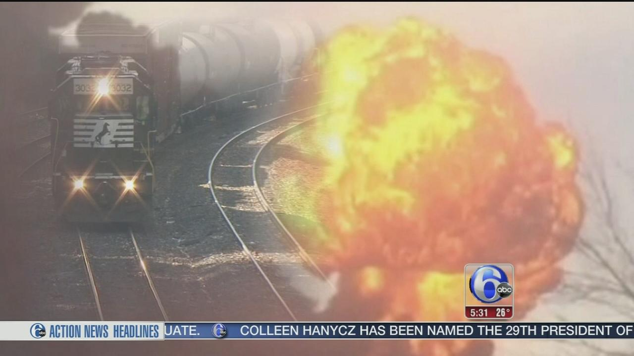 VIDEO: Train explosion in West Virginia: Could it happen here?