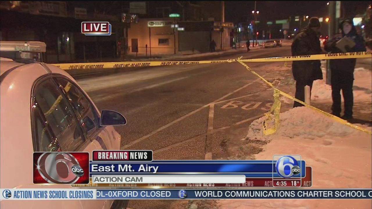VIDEO: 1 dead in double stabbing in East Mount Airy