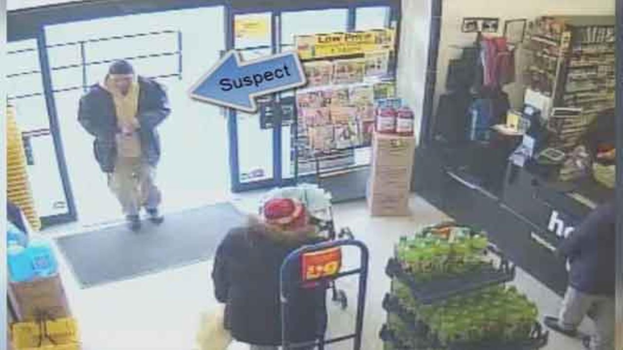 Philadelphia police are looking for a suspect wanted for theft at a dollar store in the citys Juniata Park section.