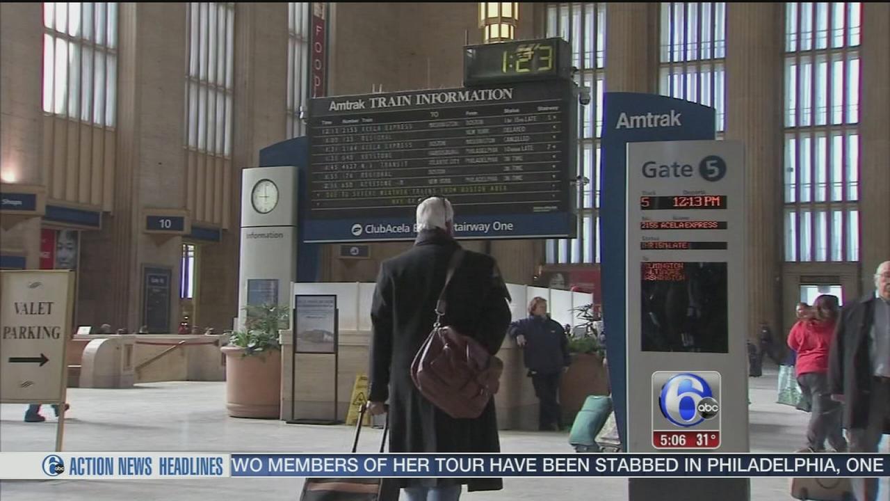 VIDEO: Sen. Casey urges Amtrak to upgrade 30th Street Station