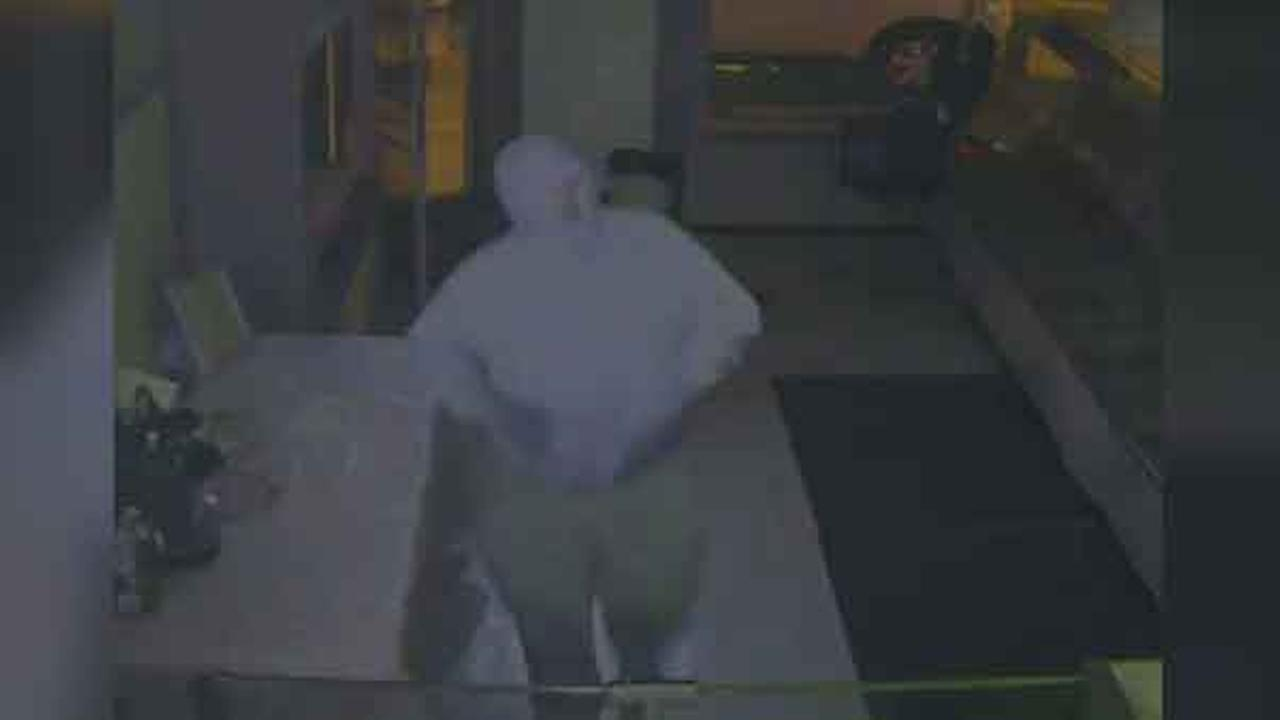 Police are looking for a suspect who burglarized a bakery in South Philadelphia early Sunday morning.