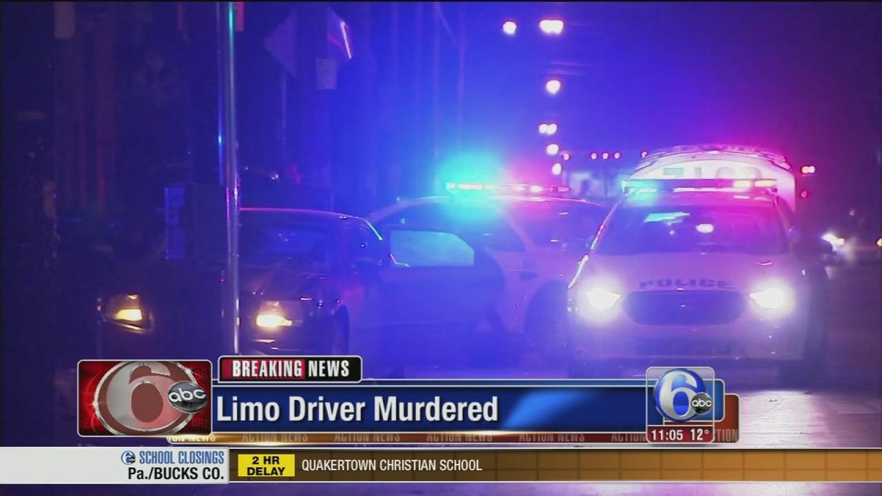 VIDEO: Limo driver shot, killed in Olney