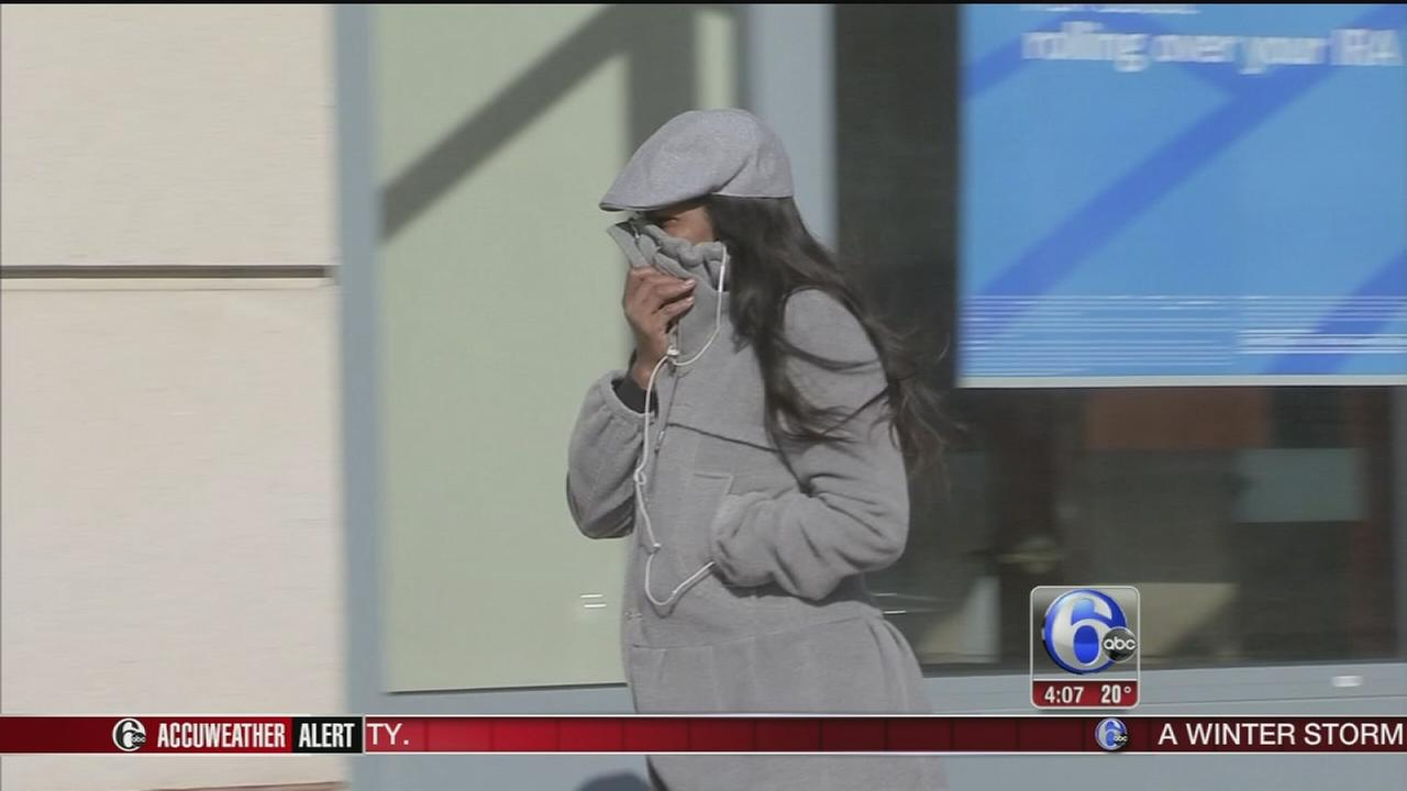 VIDEO: Nora Muchanic reports on record cold in Trenton, N.J.