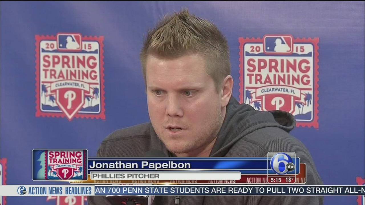VIDEO: Papelbon: No regrets about coming to Philly