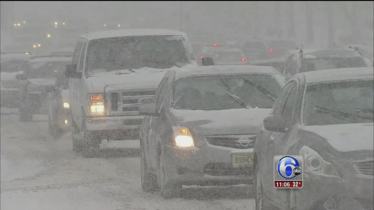 VIDEO: Kenneth Moton reports on snow in King of Prussia