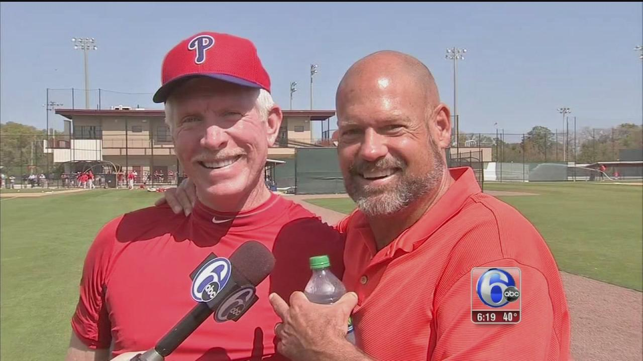 VIDEO: Good news for Daulton, Schmidt on cancer battles