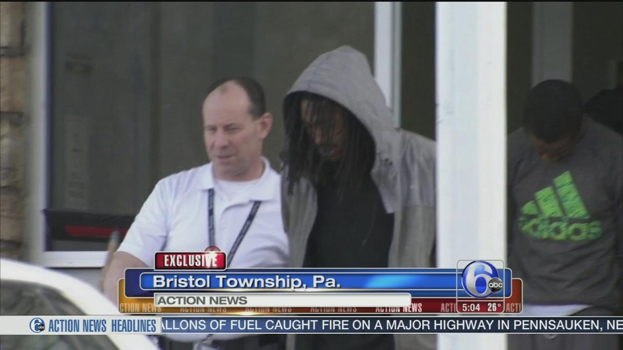 VIDEO: 2 arrested after gun shop standoff IDd