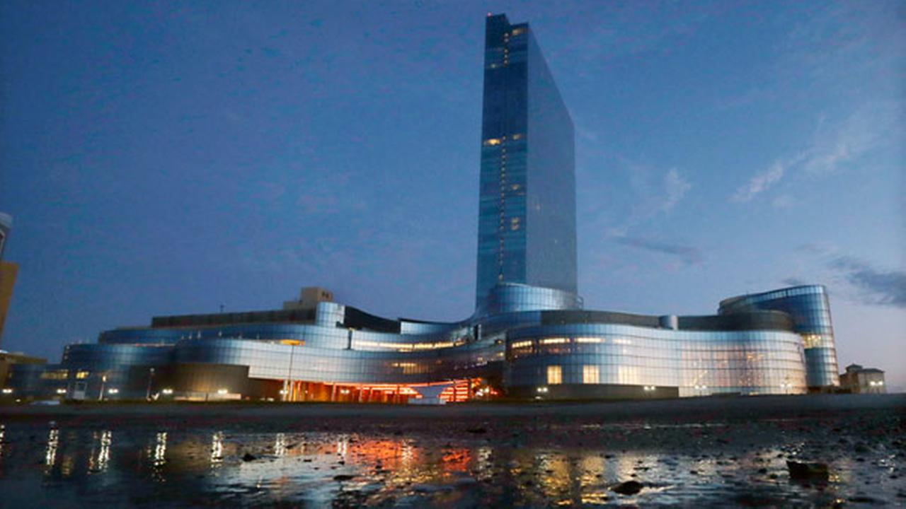 FILE - This Tuesday Sept. 2, 2014, file photo, shows the Revel Hotel Casino early in the morning in Atlantic City, N.J