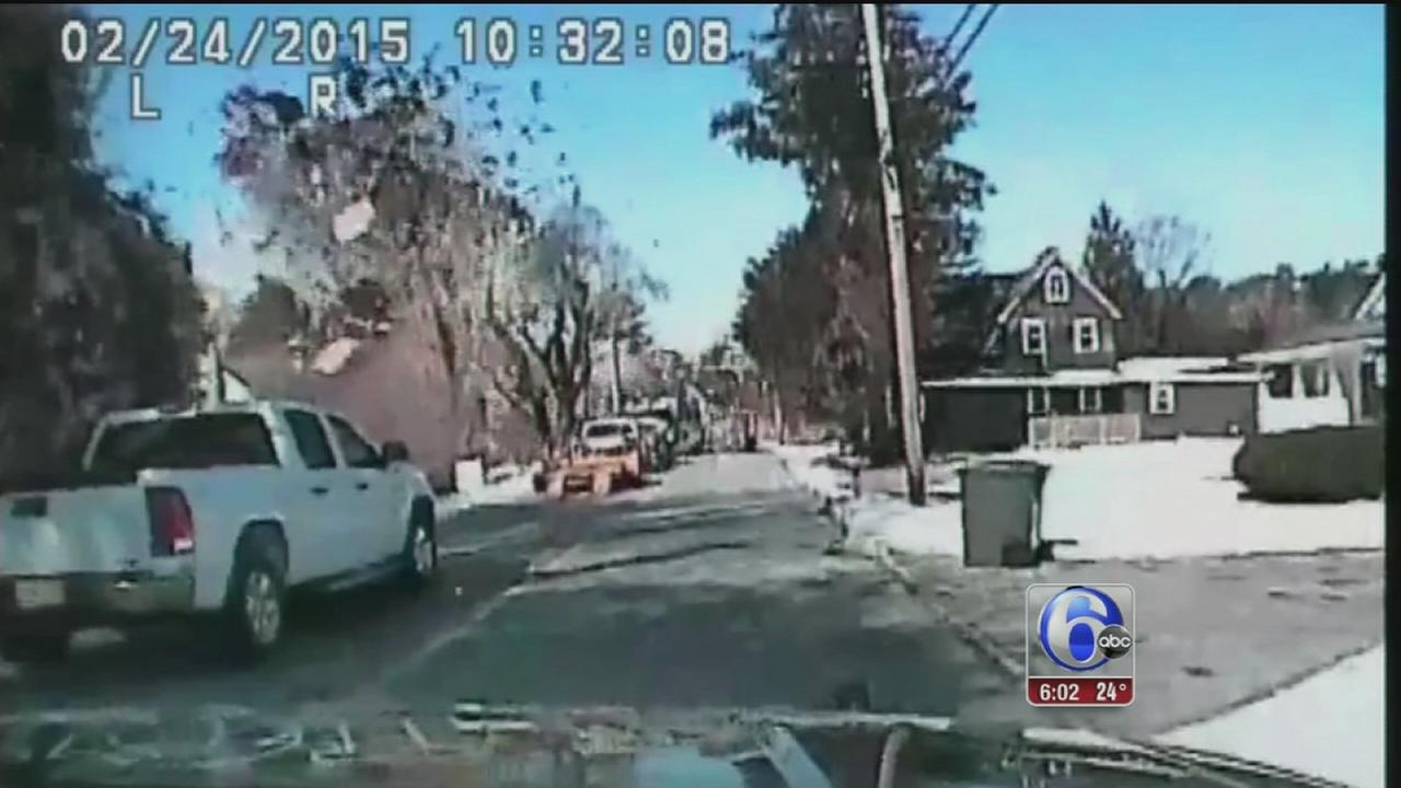 VIDEO: Stafford Twp. house explosion caught on camera