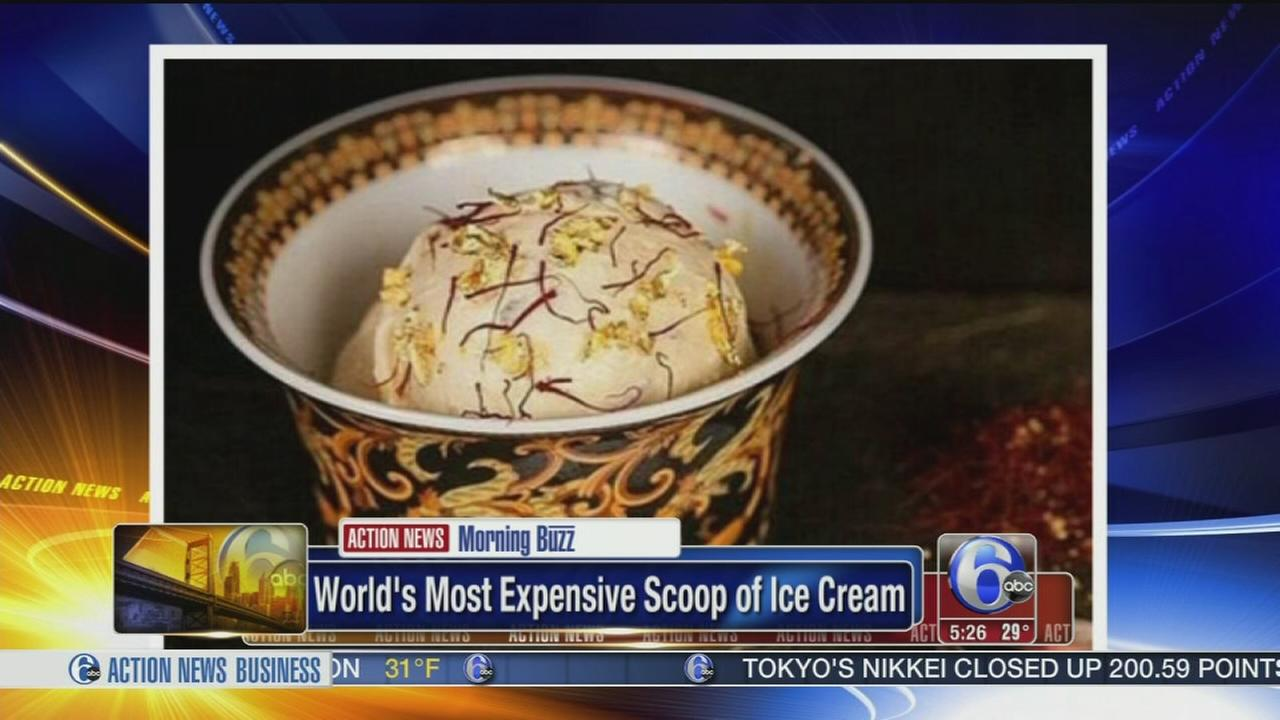 VIDEO: Worlds most expensive scoop of ice cream