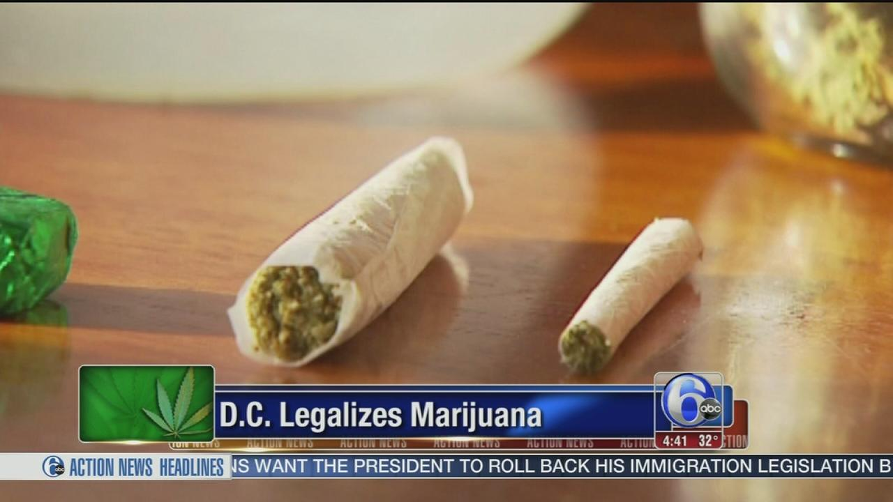 VIDEO: Washington DC legalizes marijuana