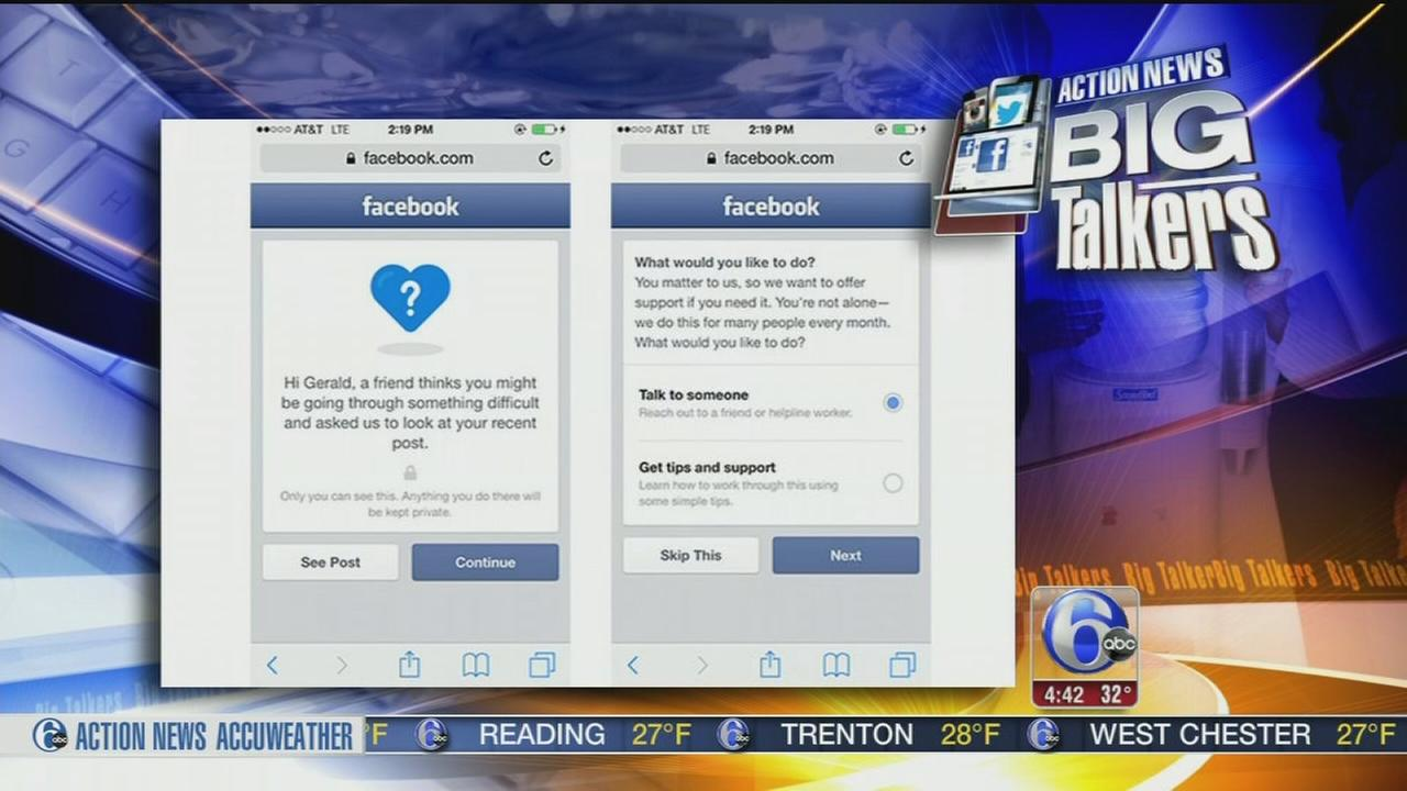 VIDEO: Facebook suicide prevention efforts