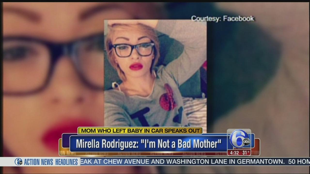 VIDEO: Mom speaks out after allegedly leaving baby in car