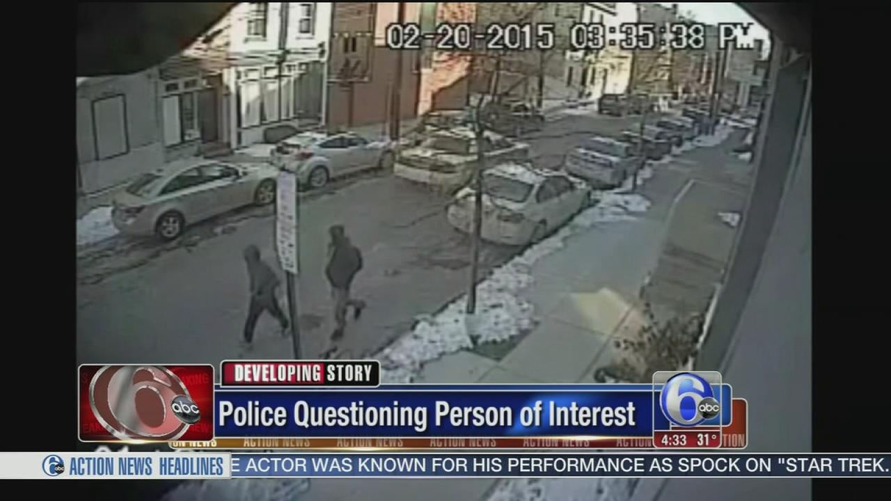 VIDEO: Person of interest questioned in Spring Garden attacks
