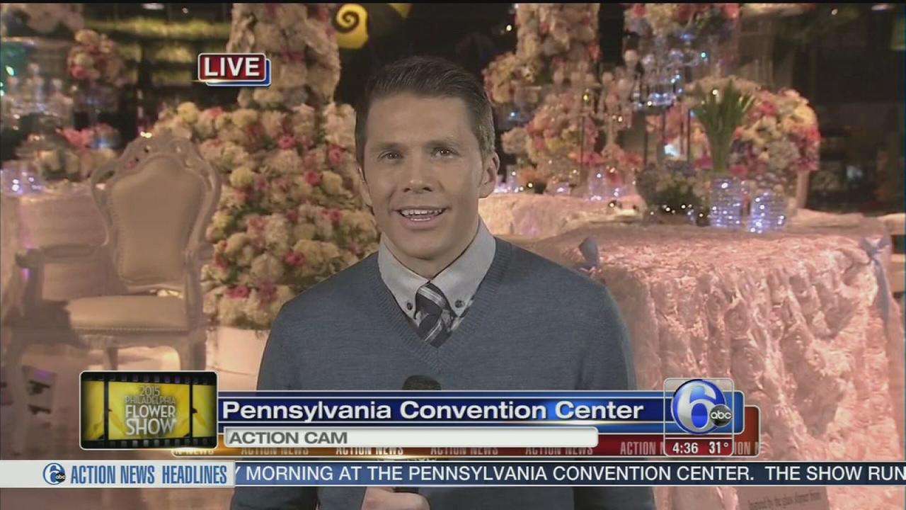 VIDEO: Adam Joseph gives us a glimpse inside the 2015 Philadelphia Flower Show