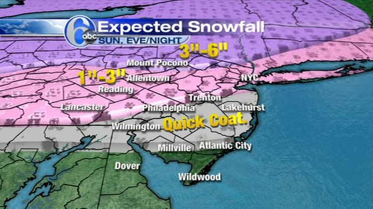 AccuWeather is tracking a wintry mix expected to bring snow, ice and rain to the Lehigh and Delaware Valleys.