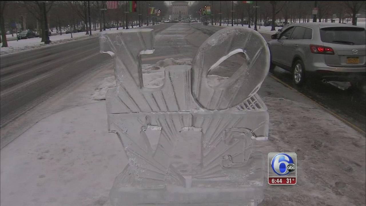 VIDEO: Dealing with cold, ice and snow... again